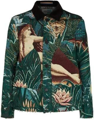 Kenzo Rousseau Jacquard Jacket