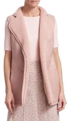 Akris Punto Reversible Lamb Fur Vest