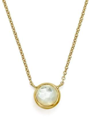Ippolita 18K Gold Mini-Lollipop Necklace in Mother-of-Pearl, 16""