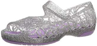 Crocs Girls' Isabella Glitter PS Flat
