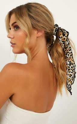 Showpo Just Cant Get Enough Neck Scarf In Leopard Print Scarves &