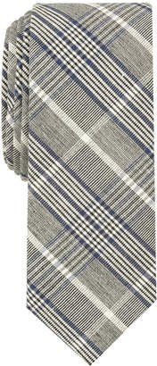 Hanson Penguin Men Plaid Skinny Tie