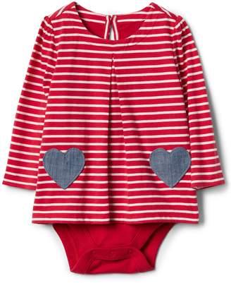 Gap Heart pocket body double