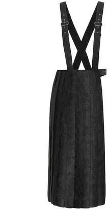 Noir Kei Ninomiya Pinafore dress