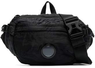 C.P. Company black camera lens crossbody bag