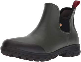 Bogs Men's Sauvie Slip On Soft Toe Rain Boot