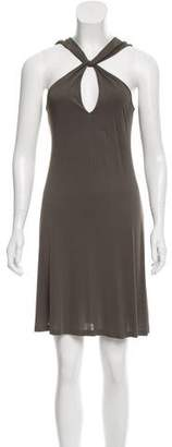 Tomas Maier Draped Sleeveless Dress