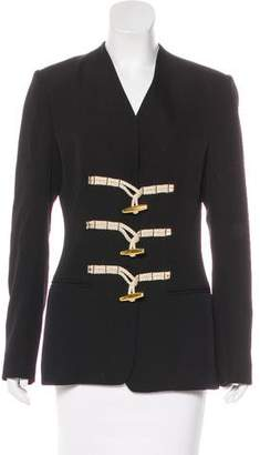 Altuzarra Virgin Wool Toggle Jacket