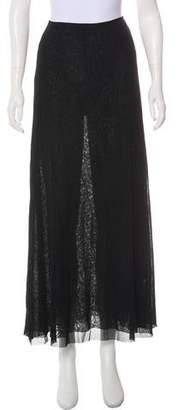 Jean Paul Gaultier Soleil Mesh Maxi Skirt