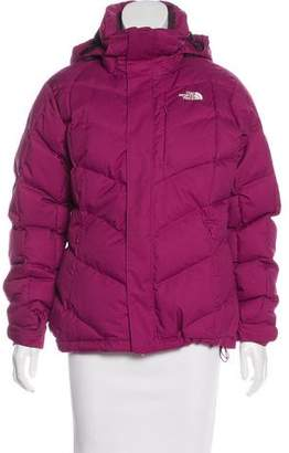 The North Face Hooded Down Puffer Coat