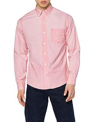 e7dd6d7275 at Amazon.co.uk · Izod Men's Oxford Stripe BD Shirt Casual (Saltwater RED  648), ...