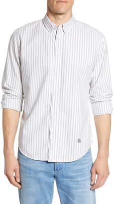 Rag & Bone Fit 2 Tomlin Slim Fit Stripe Button-Down Oxford Sport Shirt