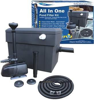 Lotus All-in-One Pond Filter Kit - 1500ltr Pump & 8 Watt UV