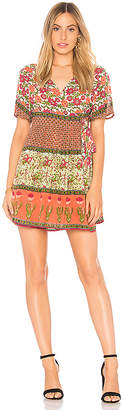 Raga Enchanted Forest Short Wrap Dress