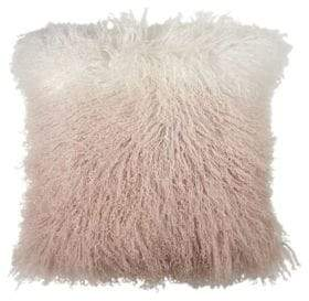 Michael Aram Dip Dye Curly Sheepskin Down Pillow