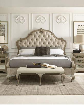 Bernhardt Campania Tufted Queen Bed