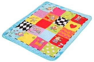 Taf Toys Kooky Picnic Activity Play Mat with Moisture Resistant Bottom. Extra Large