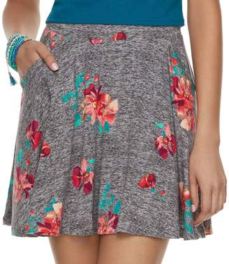 So Juniors' SO Floral Skater Skirt