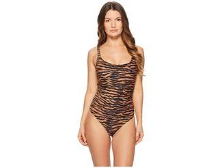 Moschino Tiger Swimsuit Women's Swimsuits One Piece