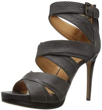 Nine West Women's Bonjorno Leather Heeled Sandal