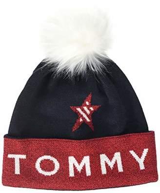 1b68f4be Tommy Hilfiger Women's Tjw Beanie,One (Size: ...