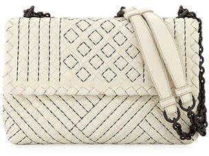 Bottega Veneta Olimpia Small Intrecciato Shoulder Bag