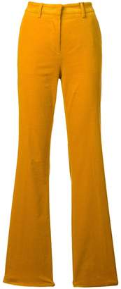 Etro corduroy flared trousers