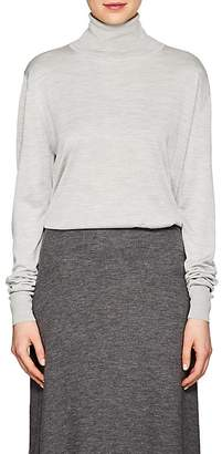 The Row Women's Donnie Silk Turtleneck Sweater
