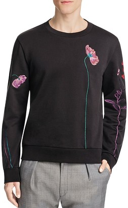 Paul Smith Floral Embroidery Sweater $495 thestylecure.com