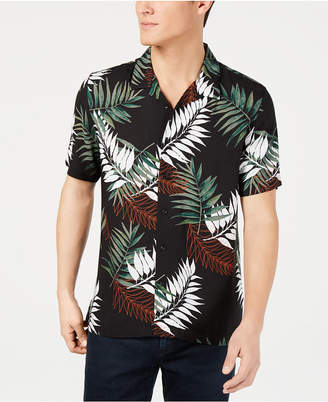 American Rag Men Leaf Print Shirt