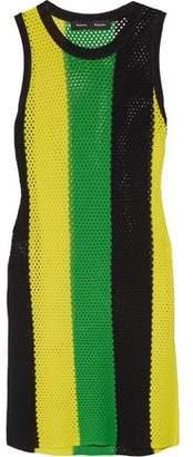 Proenza Schouler Striped Open-Knit Top