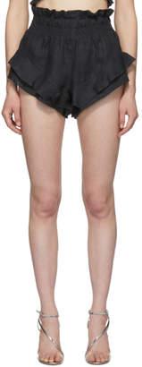 Isabel Marant Black Gram Shorts