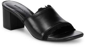 Bernardo Women's Fringe Leather Sandals