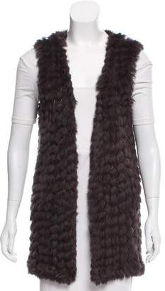 Linda Richards Open Front Fur Vest