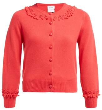 Barrie Timeless Romantic Cashmere Cardigan - Womens - Pink