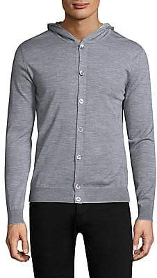 Eleventy Men's Fine Gauge Button Cardigan