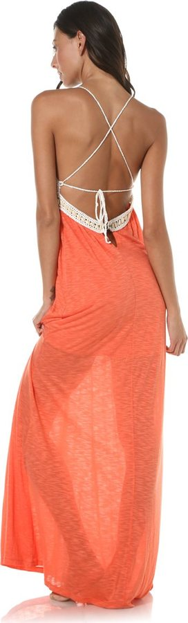 L-Space L Space Adrianna Crossback Maxi Dress