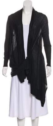 Yigal Azrouel Open Front Knit Cardigan
