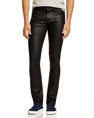 Naked & Famous Superskinny Guy Super Slim Fit Jeans in Black $168 thestylecure.com