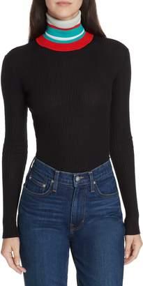 Proenza Schouler PSWL Stripe Turtleneck Sweater