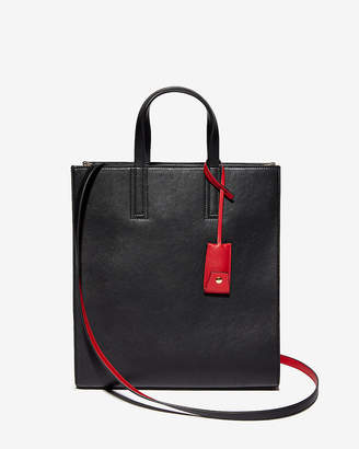 Express Boxy Top Handle Tote