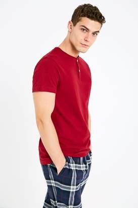 Jack Wills Barmoor Henley T-Shirt