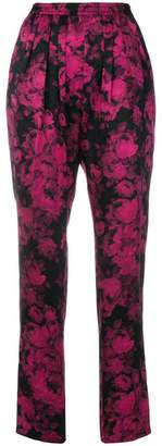 Stella McCartney floral printed trousers