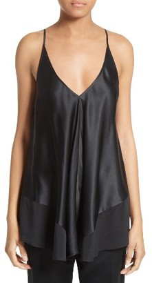 Women's T By Alexander Wang Silk Charmeuse Camisole $350 thestylecure.com