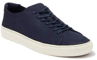 Lacoste Unlined Nubuck Leather Sneaker