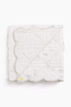 Pehr Designs Magical Forest Quilted Nursery Blanket