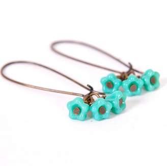 Gaamaa Petite Flower Cluster Earrings