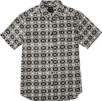 RVCA Men's Vision Short Sleeve Woven Shirt