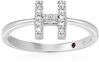 Roberto Coin Women's 001634AWLRXH Diamond Initial Ring