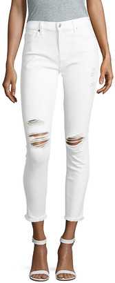 7 For All Mankind Seven 7 Distressed Ankle Jeans